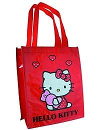 Hello Kitty Petit Sac fourre-tout Rouge (14)