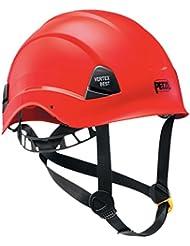 Petzl Helme Vertex Best - Casco de escalada, color rojo, talla 53-63