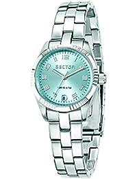 Sector Damen-Armbanduhr 240 Analog Quarz Edelstahl R3253240503