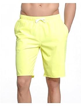 GZHGF Pantalones Cortos Para Playa Para Hombres Con Bañador De Secado Rápido Con Bolsillos Y Forro De Malla Para...