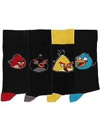 Chaussettes homme Angry birds lot de 4