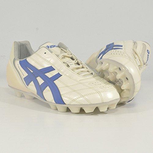 Asics Tigreor It, Scarpe per Allenamento Calcio Uomo Multicolore (Cultura Gold Italia N Blue)