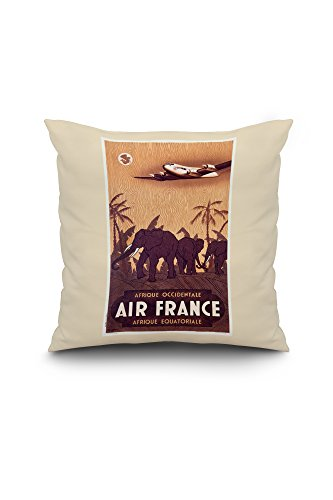 air-france-afrique-elephants-vintage-poster-artist-guerra-france-c-1948-18x18-spun-polyester-pillow-