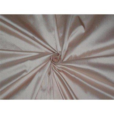 100% Pure Seide Dupionseide Stoff Licht Pink Farbe 137,2cm ohne Teppich in grober Weboptik * by the Yard