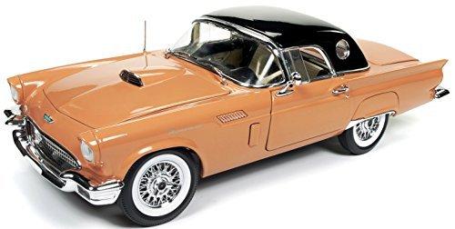 Auto World 1957Ford Thunderbird Cabrio amm1098Coral/Schwarz, 1: 18Die Cast