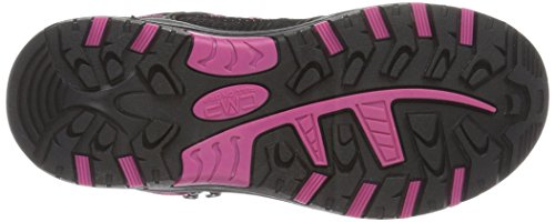C.P.M. Rigel, Chaussures de Trekking et Randonn&EacuteE Mixte Enfant Gris (Antracite-hot Pink)