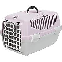 Trixie Capri Transport Box, Light Grey/Light Lilac (Capri 1, XS: 32 × 31 × 48 cm)