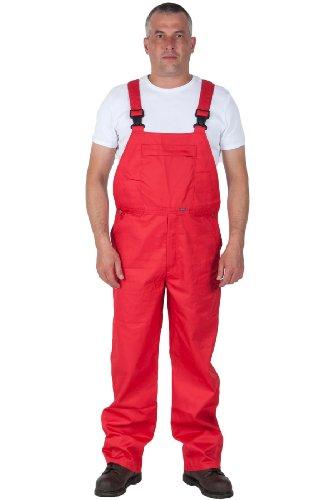 Portwest Salopette da Lavoro - Basic - Rosso Abbigliamento da Lavoro Tuta Industriale WORK12-S