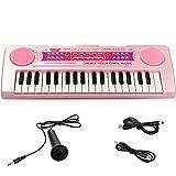 BETECHO Piano pour enfants, 37 touches Multi-Function charge électronique de jouets pour enfants Piano Clavier Jouet...