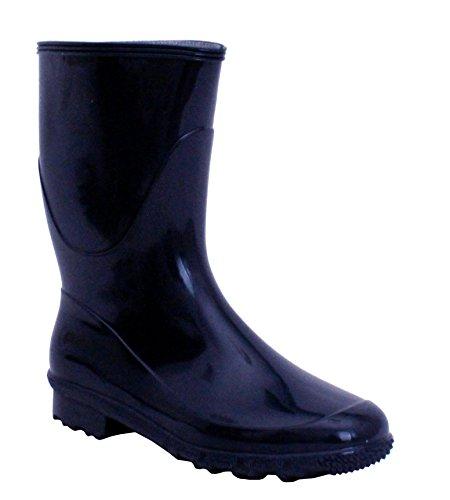 A&H Footwear  Katrina,  Mädchen Damen Arbeits-Gummistiefel Navy