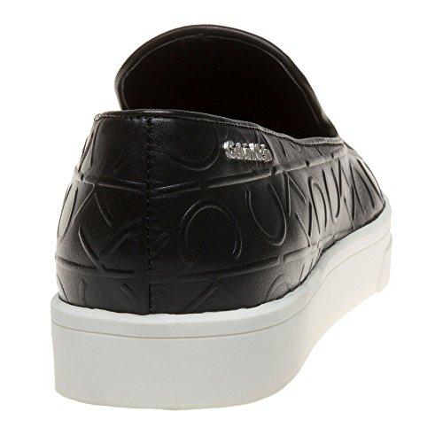 Calvin Klein Ilaina Femme Baskets Mode Noir Noir