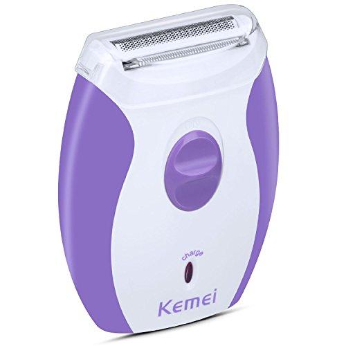 HanLuckyStars KM-200A - Depiladora Eléctrica Profesinal Recargar Femenina , incluido un cabezal de afeitado y cargador