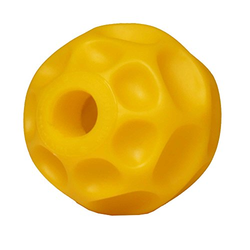 "StarMark ""burden-off Tetraflex Dog Ball – 10,2 cm (10 cm) Medium Treat dispenser per giochi interattivi"