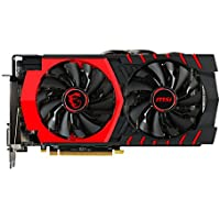 MSI R9 380 Scheda Video, 4GB Gaming, Nero
