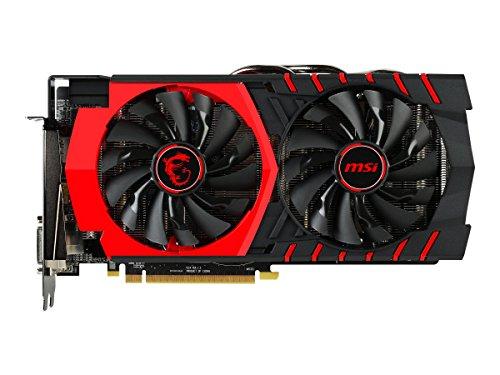 MSI V314-011R AMD Radeon R9 380 Gaming 4G Grafikkarte (16x PCI-e 3.0, 4GB GDDR5 Speicher, DVI, HDMI, DisplayPort)
