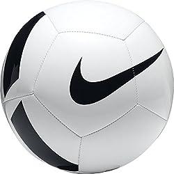 Nike Ptch Team Ballon de football Mixte Adulte, Blanc (Blanc/Noir), Taille 5