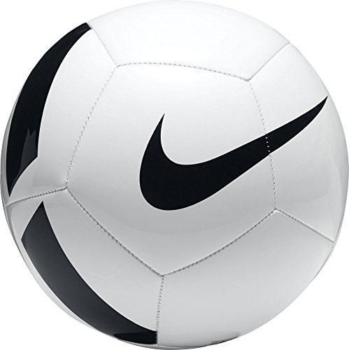 Nike Pitch Team Fußball, White/Black, 5