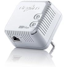 devolo dLAN 500 WiFi Powerline (500 Mbit/s Internet über die Steckdose, 300 Mbit/s über WLAN, 1x LAN Port, 1x Powerlan Adapter, PLC Netzwerkadapter, WLAN Verstärker, WiFi Booster, WiFi Move) weiß