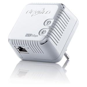 41bGPuyOvWL. SS300  - Devolo dLAN 500 duo (500 Mbit/s, 2 LAN Ports, Kompaktgehäuse, Powerline) weiß