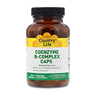 Country Life Coenzyme B Complex, 120 Vegetarian Capsules