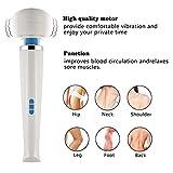 DHYBDZ Massagegerät 20 Frequenz 8 Geschwindigkeit Starker Schock Wasserdichtes, weiches Silikon...