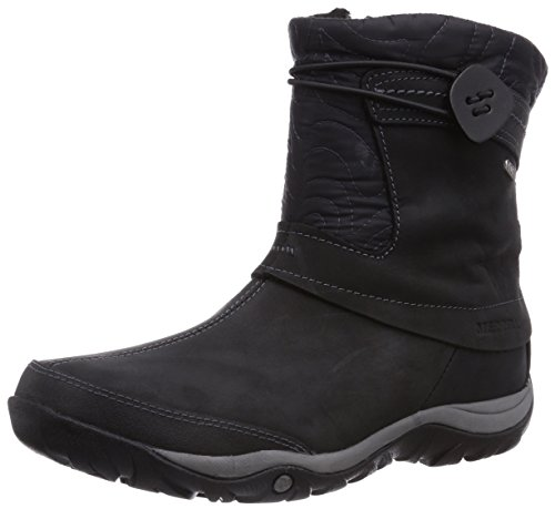 Merrell DEWBROOK ZIP WTPF, Women's Short Boots, Black, 6 UK (39 EU)