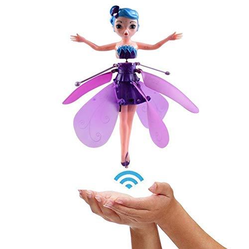 Flugzeug Mädchen Rc Helikopter Spielzeug Induktionsflugzeug Sensing Elf Fliegende Kleine Fee Leichtes Mädchen Kindergeburtstagsgeschenk , Wiederaufladbare