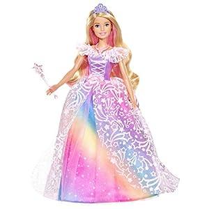Barbie Dreamtopia Principessa Gran Galà, Bambola con Accessori, Giocattolo per Bambini 3+ Anni, GFR45 1 spesavip