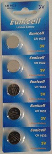 5 X CR LM1632 Lithiumbatterien CR1632 1632 Lithium Knopfbatterien, 3 V