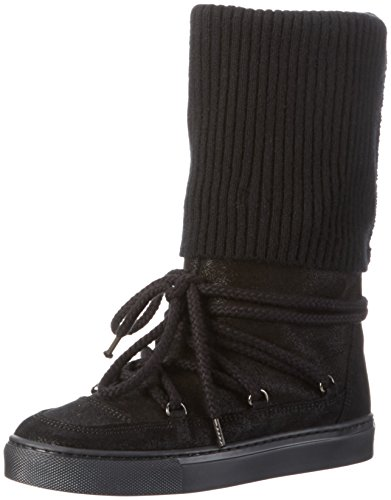 Fornarina PIFAN9560WVA - Stivali alti imbottiti da Donna, colore Nero (0000), taglia 36 EU