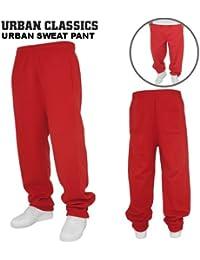 Urban Classics - Urban Sweat Pant - Rot