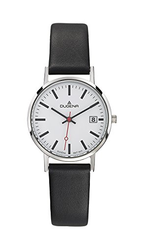 Dugena Design Gents Watch Quartz Watch With Leather Strap  4460339