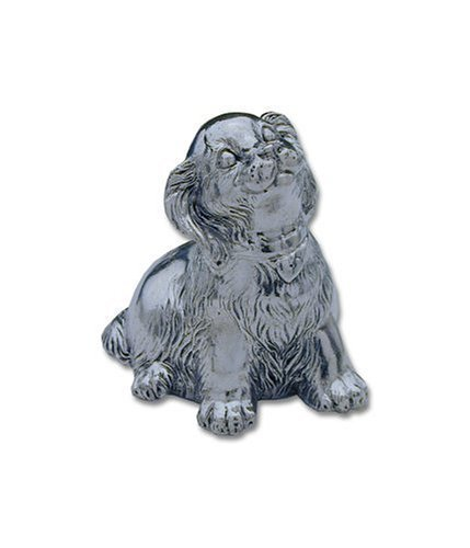 Reed & Barton Silver-plated Puppy Music Box by Reed & Barton
