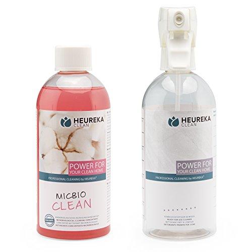 Rauchgeruch Entfernen (HEUREKA Geruchsneutralisierer Konzentrat MicBio Clean mit 80 Mio. Organismen/ml)
