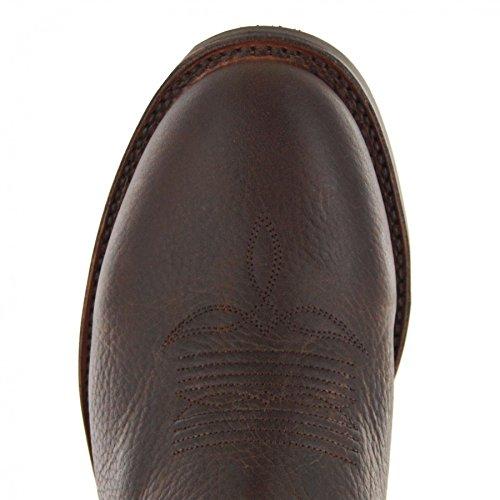 Sendra Boots Stiefel ANCON Dunkelbraun Westernreitstiefel Rodeo
