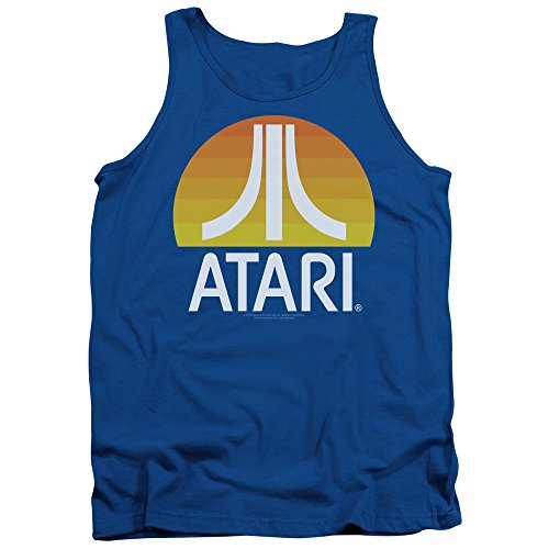 Atari Herren Pullunder Königsblau