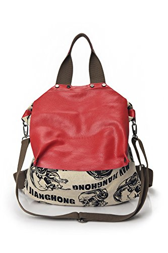 Genda 2Archer Mini Daypack Crossbody Messenger Borse per le Donne Stile B