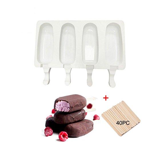 Saft Eiscreme Form Lutscher Kinder Deckel Eisform Eiscreme Stieleisform