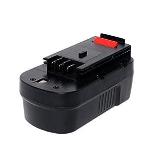 Replacement power tool Cordless Drill Impact Driver 18V Ni-Cd 2000mAh Battery for Black & Decker 244760-00, A1718, A18, HPB18, HPB18-OPE, Firestorm FS18BX, FS18FL, FSB18FS180BX