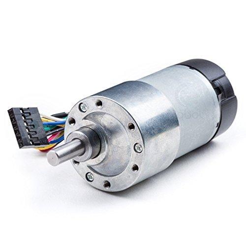 12V DC Geared Motor w/Encoder – 40RPM+80kg.cm, Gear Ratio is 270:1.