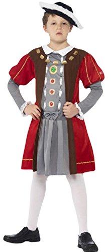 Amazon Viii Kostüm Henry (erdbeerloft - Jungen Karneval Kostüm Henry VIII , Mehrfarbig, Größe 140-152, 10-12)