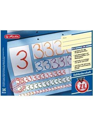 Herlitz Zahlenlernheft A4/16 Blatt