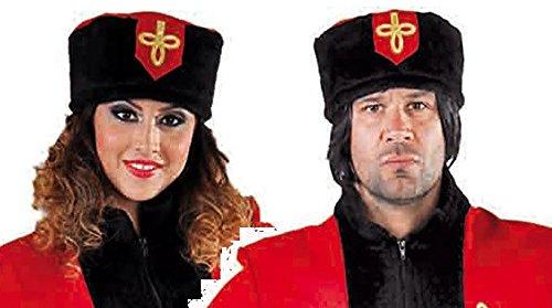 Kosaken Kostüm Hut - M215307 Damen-Herren Kosakenhut Kosakenmütze