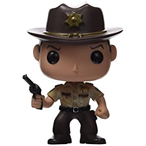 Funko 2955 Actionfigur The Walking Dead: Rick Grimes, Multi