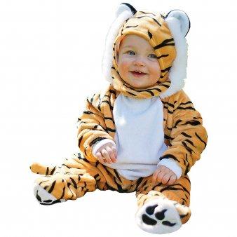 Baby Kostüm Tiger Mütze - Tiger Babykostüm 6 -12 Monate / 80 cm