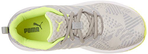 Puma Flare Woven Synthetik Turnschuhe Gray Violet-White