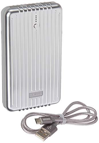 Zendure A5 Externer Akku 16750mAh Powerbank, Leichter Akkupack mit dualen Ausgang für iPhone 7/7 Plus, iPad, Samsung Galaxy und mehr Handys(Silber)