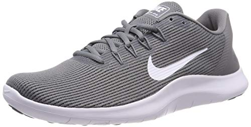 Nike Herren Flex 2018 Rn Cross-Trainer Mehrfarbig White/Cool Grey 016, 44.5 EU