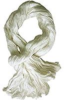 Chèche foulard en coton de qualité supérieure froissé
