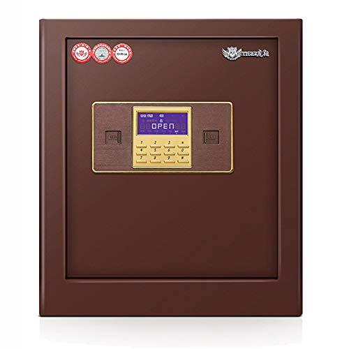 MIAOLULU hierro acero operado seguridad dinero efectivo caja fuerte casa oficina casa